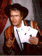 Magician Chaz Misenheimer as Medicine Man in a Traveling Medicine Show