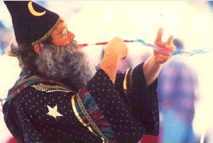 Chaz Misenheimer as Wizard Merlin